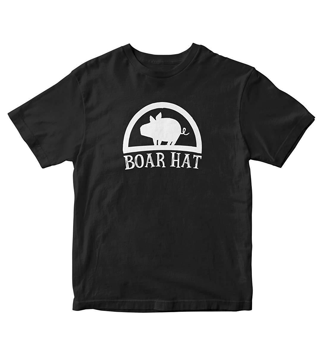 Boar Hat The Seven Deadly Sins Nanatsu No Taiza Anime Manga T Shirt Black A503