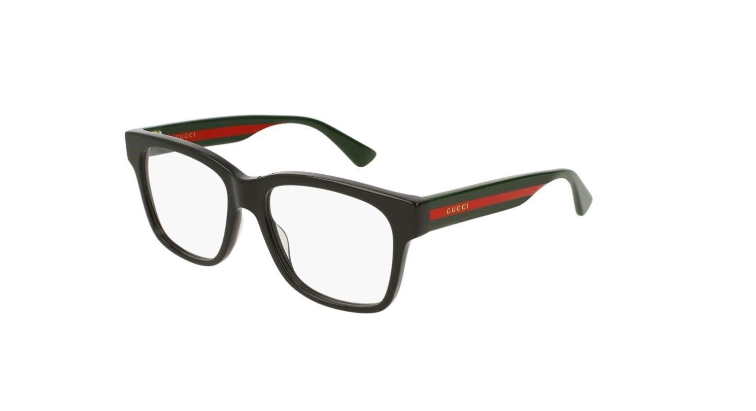 Gucci GG0342O Eyeglasses 004 Black/Multicolor 56 mm by Gucci