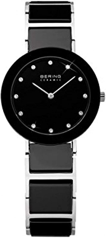 BERING Reloj Analógico para Mujer de Cuarzo con Correa en Acero Inoxidable 11422-742