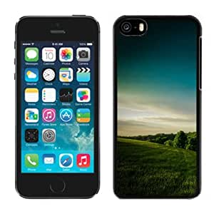 NEW Unique Custom Designed iPhone 5C Phone Case With Hill Country Forest_Black Phone Case