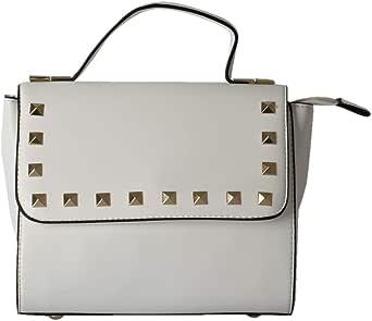 Tatra Shoulder Bag For Women,Leather,White