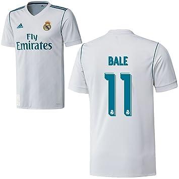 adidas - Camiseta de fútbol de la primera equipación del Real Madrid CF para la temporada