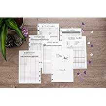 Home Finance Kit for the Mini Happy Planner, One Year Supply