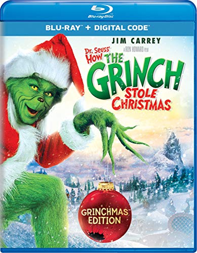 Dr. Seuss' How The Grinch Stole Christmas [Blu-ray] (Best Commercial Websites 2019)