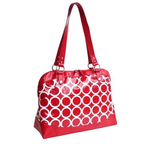 kailo-chic-17-laptop-satchel-tote-red-circles