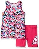 Adidas Girls' Tee Shirt and Short Set