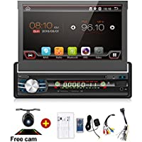 Navigation Seller - 7 Universal 1 Din Android 6.0 Car Audio DVD Player+Radio+GPS Navigation+Autoradio+Stereo+Bluetooth+PC+DVD Automotivo+SD USB RDS Aux