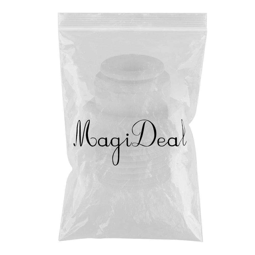 MagiDeal 3//8 Dispenser Dacqua OD Valvola a Sfera Tubo Veloce Collegare Raccordo Diritto
