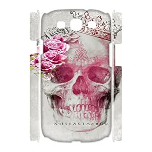 skull 3D-Printed ZLB816199 Personalized 3D Phone Case for Samsung Galaxy S3 I9300
