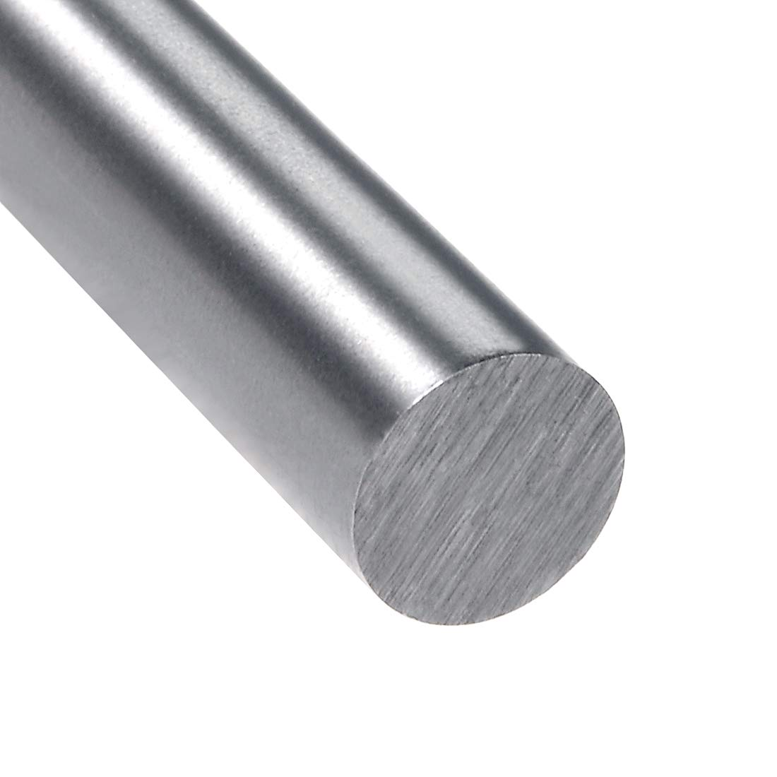 sourcing map HSS Lathe Round Rod Solid Shaft Bar 8mm Dia 200mm Length 2Pcs