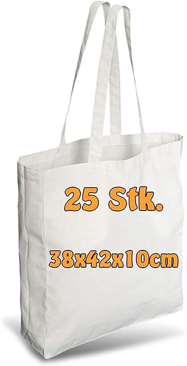 Bolsas de algodón yute, con pliegues laterales y en la base, dos ...