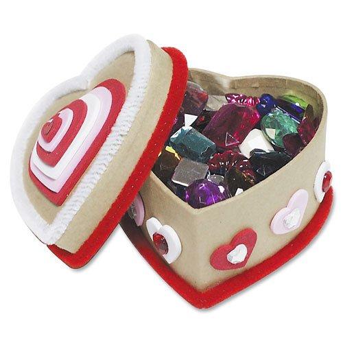Paper Mache Kits, Glue, Glitter Pens, 24 Boxes, Sold as 1 Kit - CHENILLE KRAFT COMPANY Paper Mache Kits, Glue, Glitter Pens, 24 Boxes
