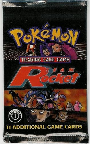 Pokemon Team Rocket 1ST EDITION Booster Pack - 11C (Rocket Booster Team Pokemon)