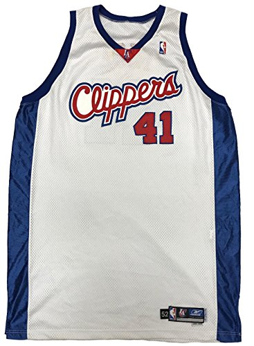 Glen Rice Game Worn 2003-2004 Used Jersey LOA - Los Angeles Clippers - NBA Game Used Jerseys