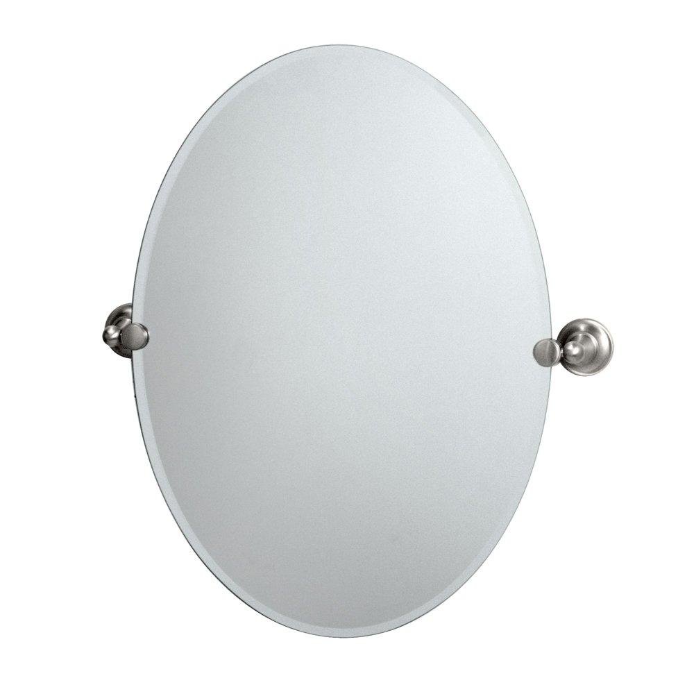 Amazon Gatco 4349 Tiara Oval Wall Mirror Bronze Home Improvement