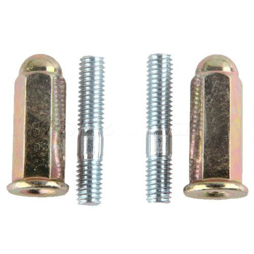 Promax Exhaust Bolt for GY6 50 cc 70cc 90 cc 110cc 125 cc 150cc Scooters ATVs Go Karts Moped Quad 4 Wheeler Dune Buggy Sandrail Taotao Sunl Coolster Jonway Roketa (Coolster Quad compare prices)