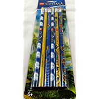 Lego Legends of Chima Pencils, 6 Pack