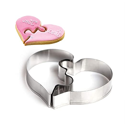 LOVE Stainless Steel Cookie Cutter Cake Baking Biscuit Pastry Mould Tools New