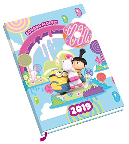Despicable Me Fluffy A5 Official 2019 Diary - A5 Diary -