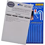 Sidith-R Clean Sticks Drain Cleaning 24 Pcs/2Pack Keeps Drains &Pipes Clear And Odor Free As Seen On TV Sewer Detergent Stick For Toilet Kitch Sink Shower Floor Drains Prevent Odors Clogs (blue)