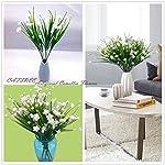 CATTREE-Artificial-Camellia-Flowers-Plastic-Fake-Plants-Wedding-Bridal-Bouquet-Party-Indoor-Outdoor-DIY-Home-Garden-Verandah-Office-Table-Centerpieces-Arrangements-Decoration-White-8-pcs