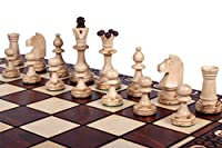 The Zaria - Unique Wood Chess Set, Pieces, Chessboard & Storage