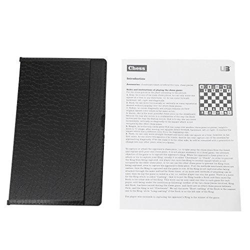 WEISHAZI – Juego de ajedrez magnético de bolsillo internacional