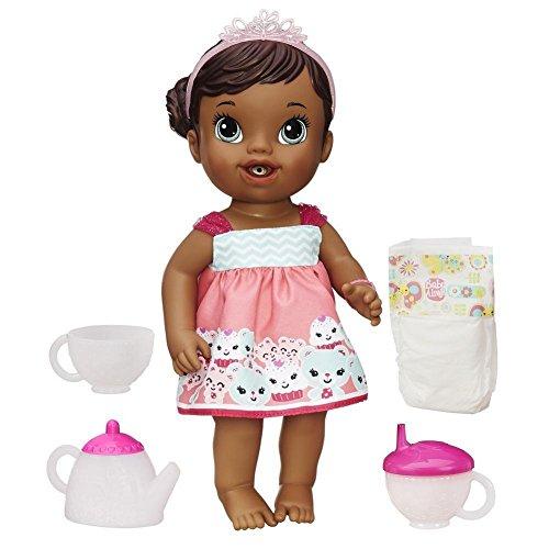 Hasbro Baby Alive Teacup Surprise Baby [Dark Skin]