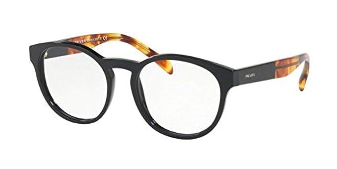 a50f6905a96 Prada Women s PR 16TVF Eyeglasses 52mm at Amazon Women s Clothing store