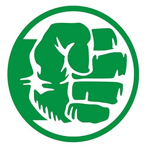 KGrn Hulk Insignia Decal Vinyl Sticker Graphics|UR Impressions|Cars Trucks SUV Vans Walls Windows Laptop|Kelly Green|5.5 Inch|URI589 (Hulk Vinyl)