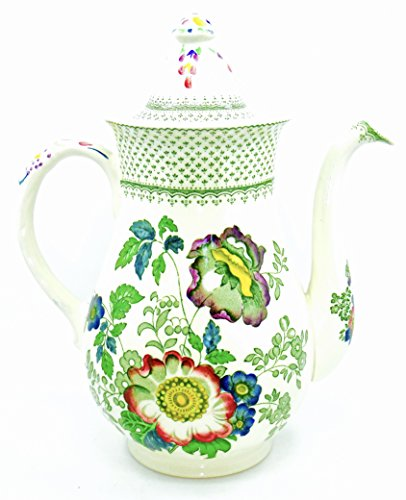 England Numbered - Mason's Vintage Coffee Pot,Paynsley Patt,Ironstone,Floral,numbered,England