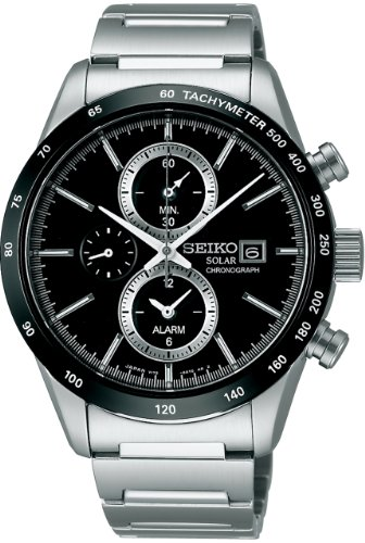 SEIKO watches SPIRIT SMART Spirit smart chronograph solar sapphire glass for everyday life waterproof SBPY119 (Sapphire Mens Chronograph)
