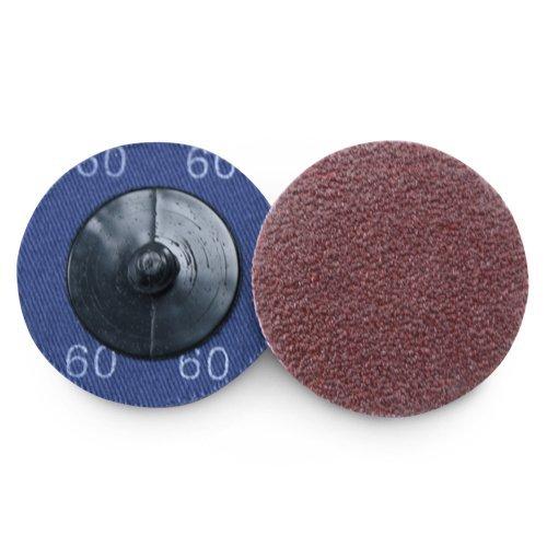 """2"""" Roloc Aluminum Oxide Quick Change Sanding Discs 60 Grit - 25 Pack 51vMT3Nmr7L"""