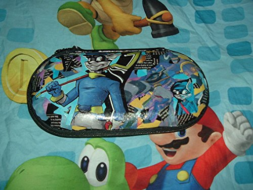 Handmade Sly Cooper 1 2 3 PS VITA OOAK Unique collage comic art Video Game carry -