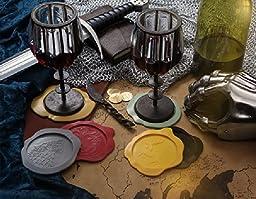 Game of Thrones Wax Seal Coasters (Set of 6 Sigils)