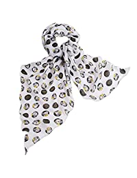 Disney Minnie Mouse Scarf - Signature Collection White