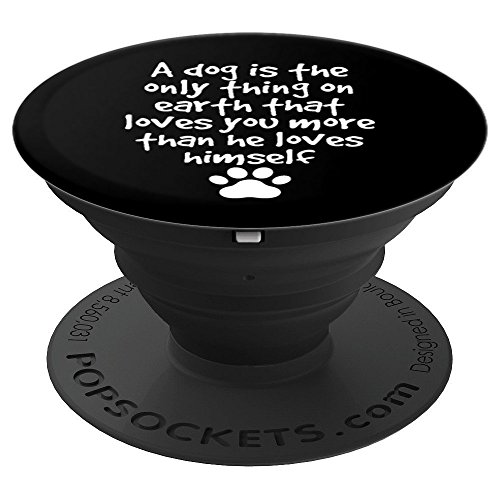 Dog Quotes Dog Paw Best Friend Puppy Love Dog - PopSockets Grip and Stand for Phones and Tablets (Boxer German Shepherd)