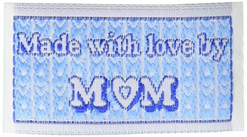 Blumenthal Iron-On Lovelabels 4/Pkg, Made with Love by Mom