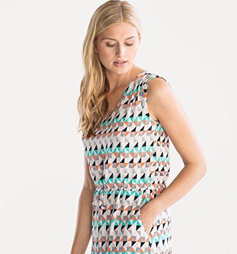 CA Damen Sommerkleid Urlaub Strand ausgestellt Bindeband bunt ...