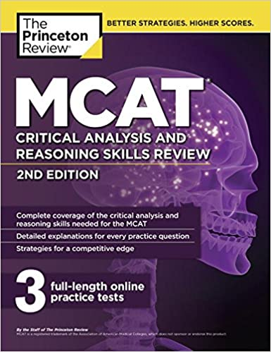 Mcat Critical Analysis And Reasoning Skills Review Nd Edition