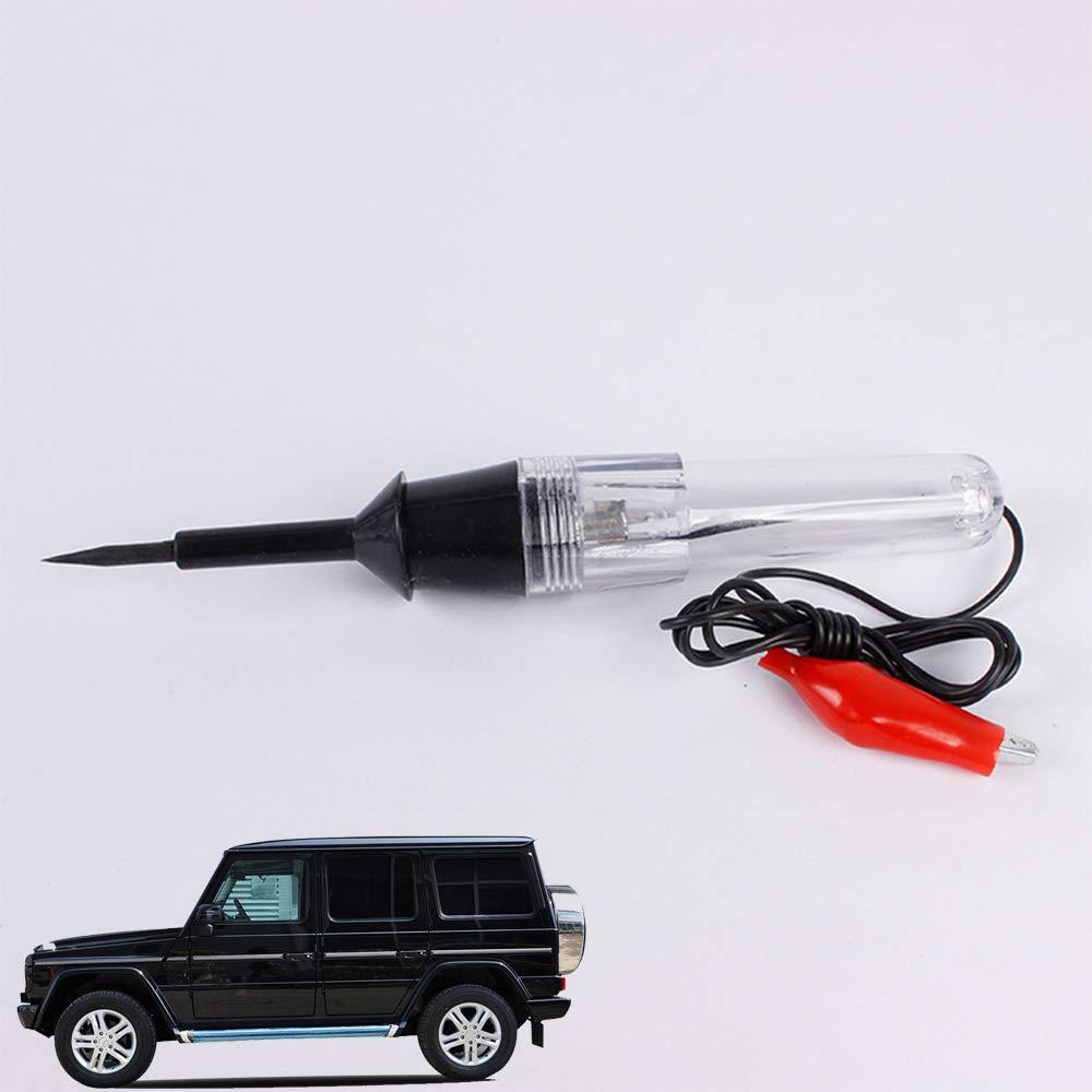 okdeals Car Wire Circuit Tester Motorcycle 6V/12V/24V Voltage Probe Pen Electric Auto Test Light