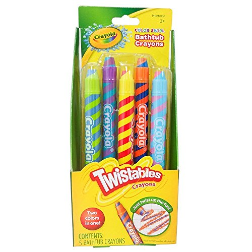 - Play Visions Color Swirl Crayons