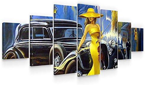 Startonight Large Canvas Wall Art Retro