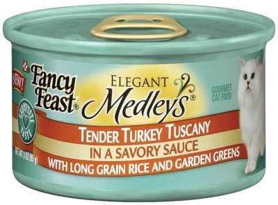 NESTLE PURINA PET CARE CANNED - FANCY FEAST TURKEY TUSCANY Case 24/3 OZ