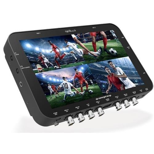 Convergent Design Apollo Multi-Stream Monitor, Recorder, Switcher by Convergent Design