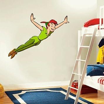 Peter Pan Cartoon Wall Decal Sticker 22u0026quot ... Part 72