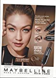 **PRINT AD** With Gigi Hadid For 2015 Maybelline Pomade Crayons**PRINT AD**