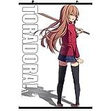 Toradora Anime Wall Scroll Poster Aisaka Taiga(24''*35'')support Customized