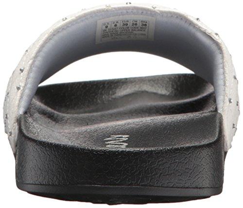 Skechers Donna 2 ° Sandalo Slide Take-rodeo Dr Bianco