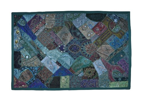 Indian Home Decor Wall Hanging Tapestry with Beads